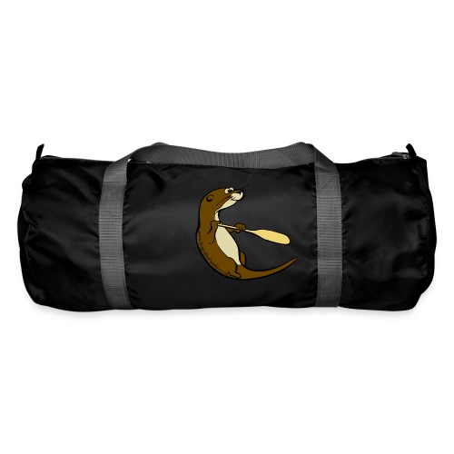 Song of the Paddle; Quentin classic pose - Duffel Bag