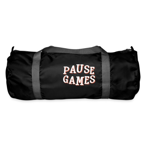 Pause Games Text - Duffel Bag