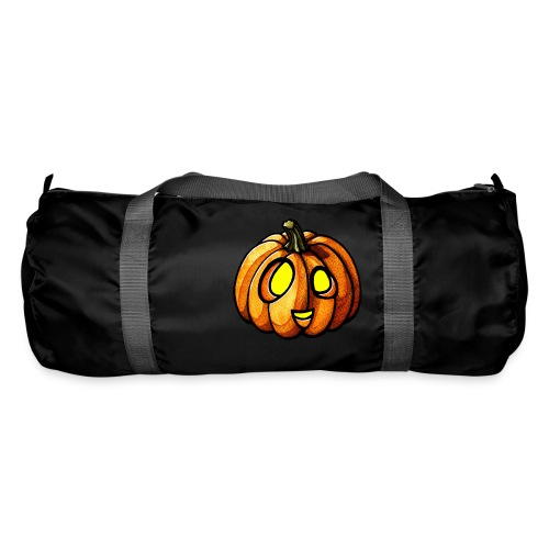 Pumpkin Halloween watercolor scribblesirii - Sportstaske