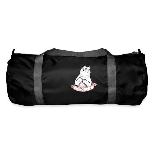OK Boomer Cat Meme - Duffel Bag
