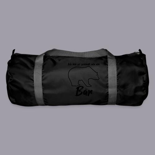 Ich bin so schlank wie ein Bär - Sporttasche