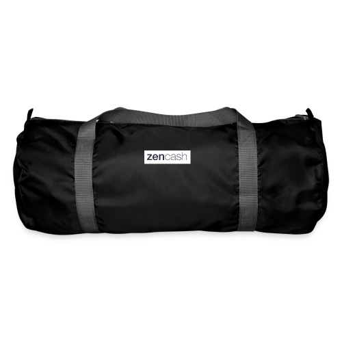 ZenCash CMYK_Horiz - Full - Duffel Bag