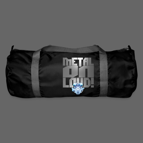 metalonloud large 4k png - Duffel Bag