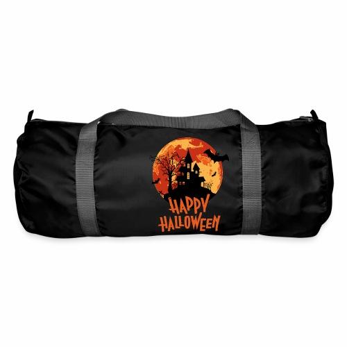 Bloodmoon Haunted House Halloween Design - Sporttasche