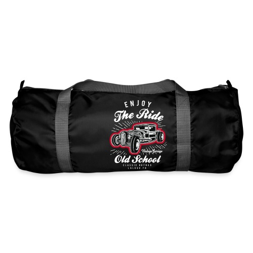 T-shirt Enjoy The Ride Hot Rod - Sac de sport