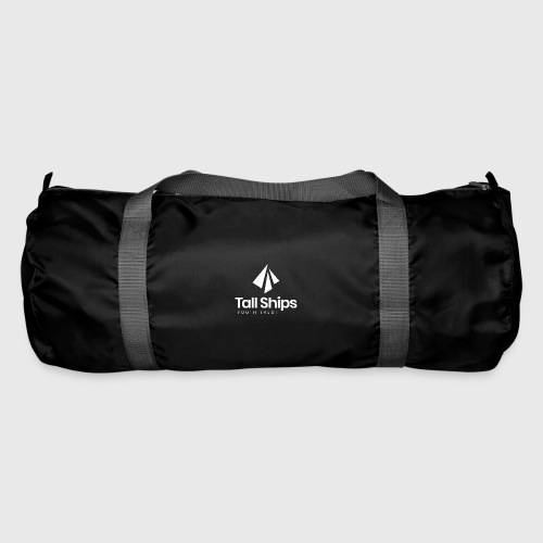 Tall Ships Youth Trust Branded (white) - Duffel Bag