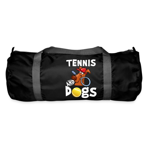 Tennis And Dogs Funny Sports Pets Animals Love - Sporttasche