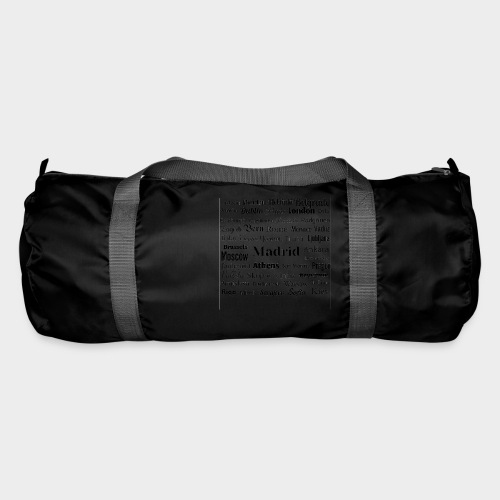 European capitals - Duffel Bag