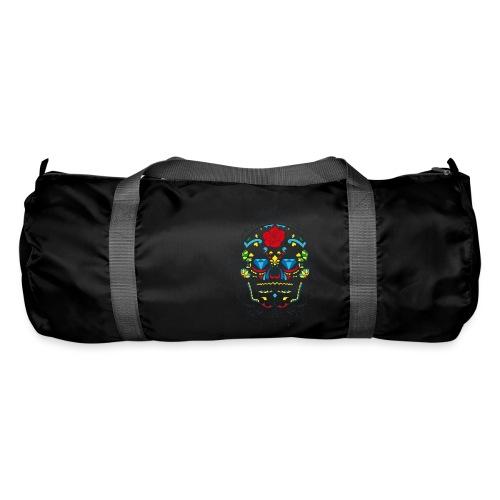 Rose und Diamantschädel - Sporttasche