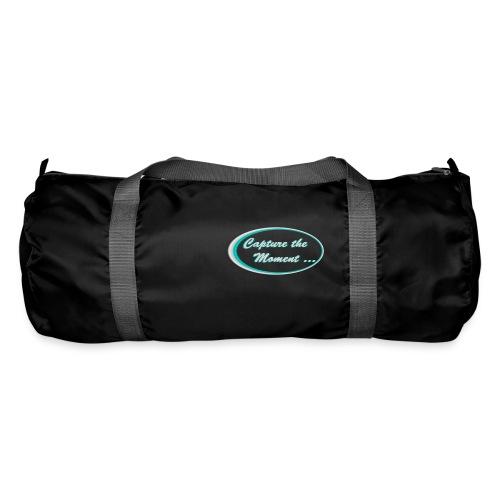 Logo capture the moment photography slogan - Duffel Bag