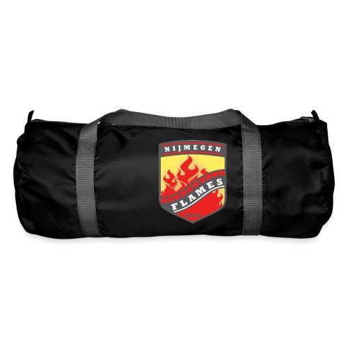 snapback pet rood/zwart combi - Sporttas