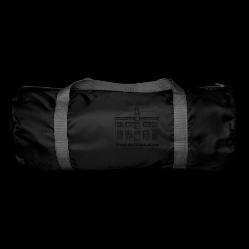 See you at Hotel de Tabaksplant BLACK - Duffel Bag