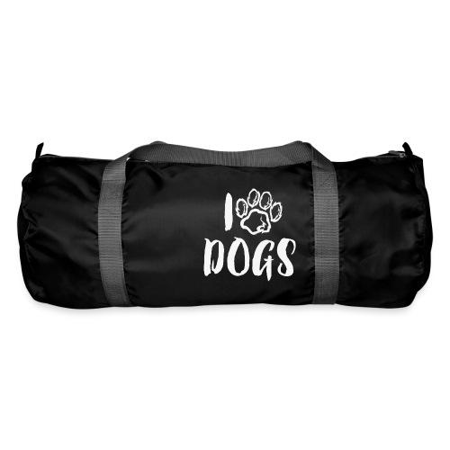 I LOVE DOGS / AMO A LOS PERROS - Bolsa de deporte