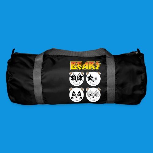 Kiss Bears square.png - Duffel Bag
