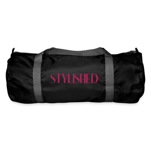 stylished logo pink - Sporttasche