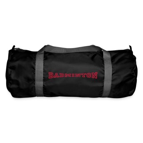 schrift badminton - Sporttasche