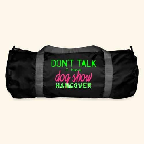 Dog show hangover - Urheilukassi