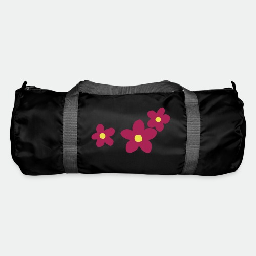 Three Flowers - Duffel Bag
