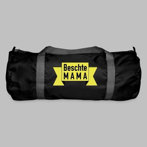 Beschte Mama - Auf Spruchband - Sporttasche