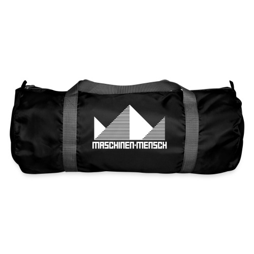 Maschinen-Mensch Logo black - Sporttasche