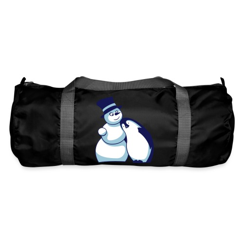 Schneemann und Pinguin - Sporttasche