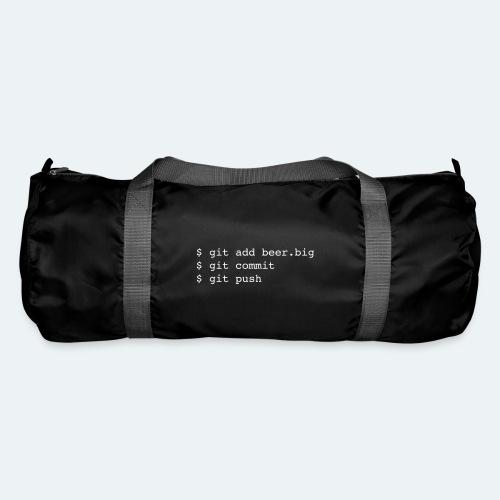 Bier Git Befehle Geschenk für Informatiker - Sporttasche
