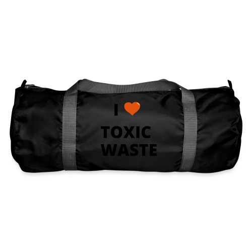 real genius i heart toxic waste - Duffel Bag