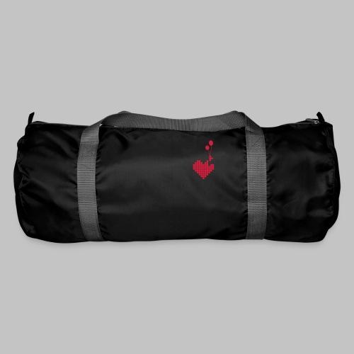 heart and balloons - Duffel Bag