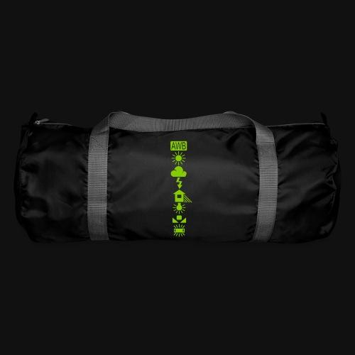 Weissabgleich Symbole Vertikal - Sporttasche