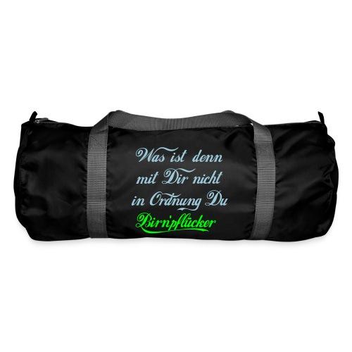 Was ist denn mit Dir nicht in Odnung Birn'pflücker - Sporttasche