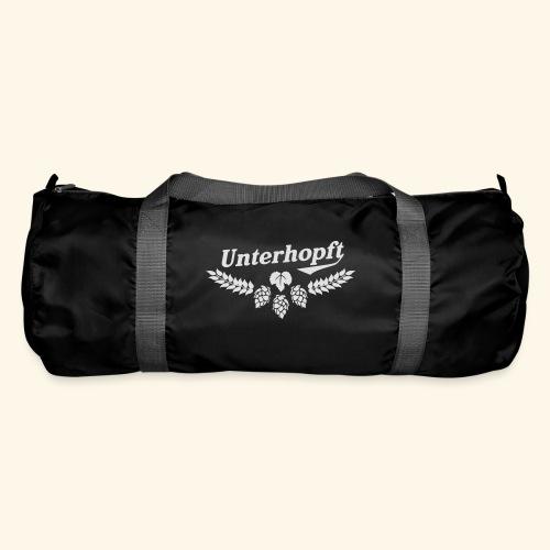 Unterhopft T Shirt - das Original für Biertrinker - Sporttasche