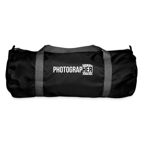 Photographing-her - Duffel Bag