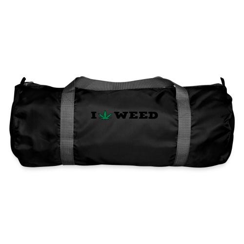 I LOVE WEED - Duffel Bag