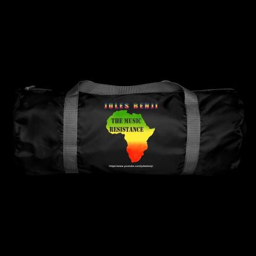 JULES BENJI & MUSIC RESISTANCE africa design - Duffel Bag