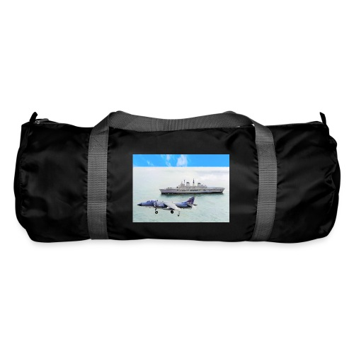 Sea harrier and Invicible digital oil - Duffel Bag
