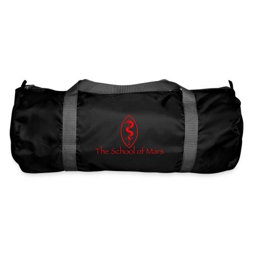 SoM Crest (Red) w/ Text - Duffel Bag