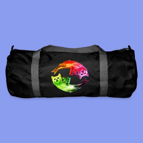 catfish small rainbow png - Duffel Bag