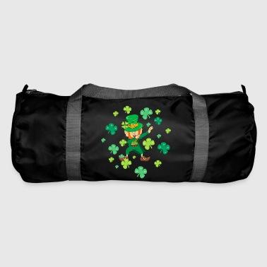 St Patricks Day - Dabbing Leprechaun - Shamrock - Duffel Bag