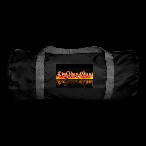 bat clan fire logo - Duffel Bag