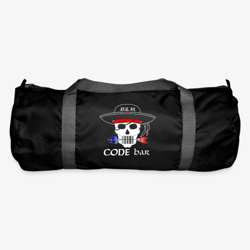 Code Bar white - Sac de sport
