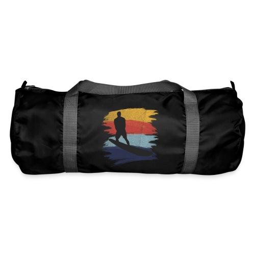 Wellenreiten Retro-Stil, Vintage - Sporttasche