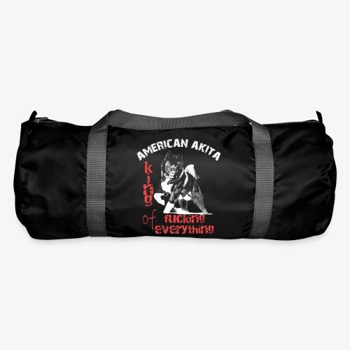 American Akita - King of fucking everything - Duffel Bag