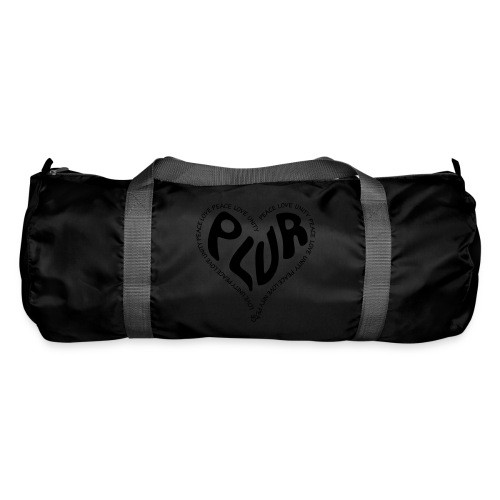 PLUR Peace Love Unity & Respect ravers mantra in a - Duffel Bag