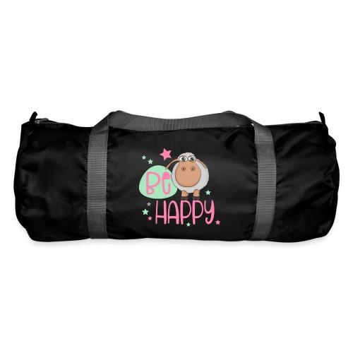 Be happy Schaf - Glückliches Schaf - Glücksschaf - Sporttasche