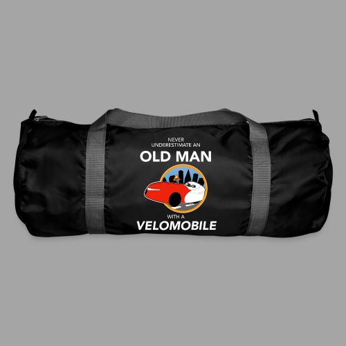 Never underestimate an old man with a velomobile - Urheilukassi