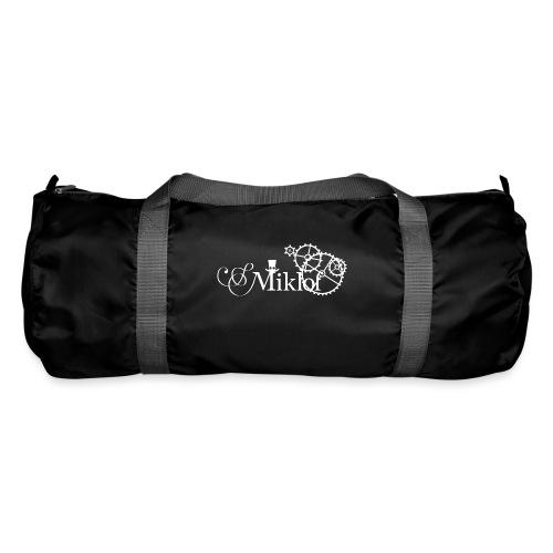 miklof logo white 3000px - Duffel Bag