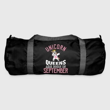 Unicorn Queens Are Born in September - Duffel Bag