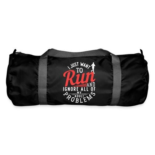 I Just Want To Run   Marathon - Sporttasche