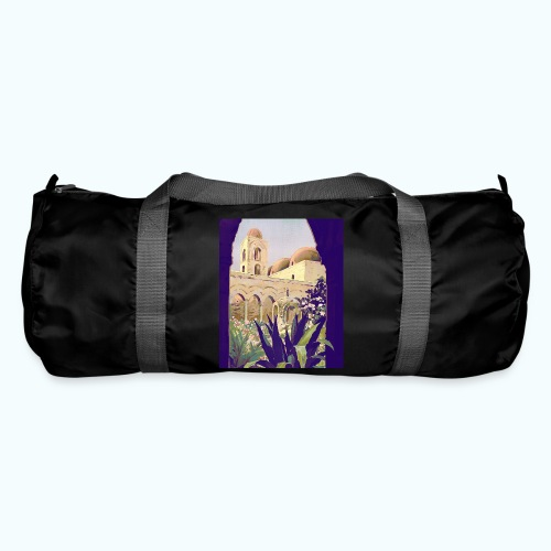 Palermo Vintage Travel Poster - Duffel Bag