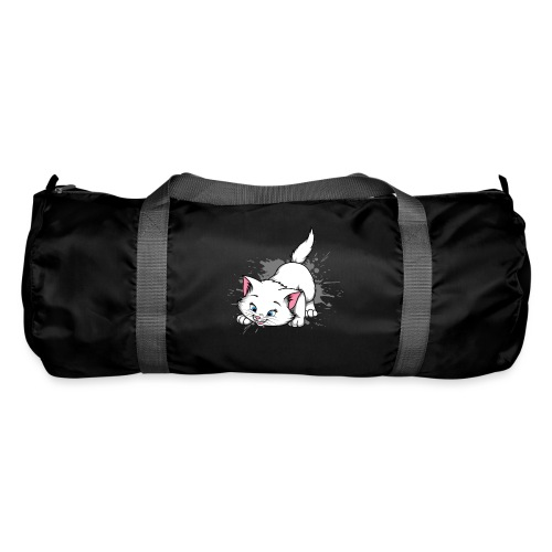 Katze Splash Pfützen Sprung - Sporttasche